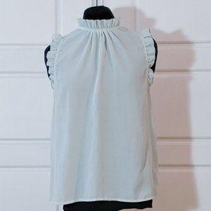 💰3/20$💰SHEIN mint green sleeveless sheer top